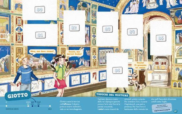 Artonauti album figurine storia arte Giotto
