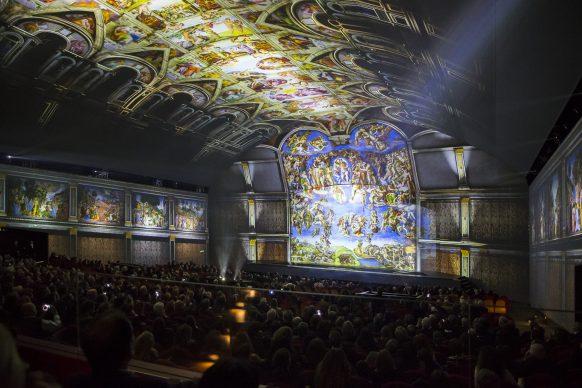 Giudizio Universale. The Sistine Chapel Immersive Show: Cappella Sistina, Luca Parisse