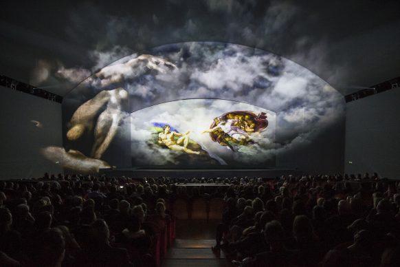 Giudizio Universale. The Sistine Chapel Immersive Show: Creazione della volta, Luca Parisse