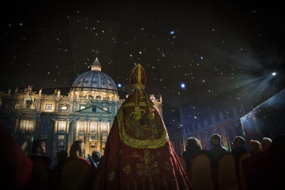 Giudizio Universale. The Sistine Chapel Immersive Show: Elezione del Papa, Luca Parisse