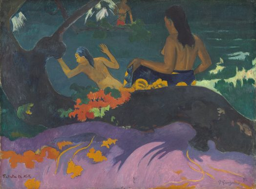 Paul Gauguin, Fatata te Miti (By the Sea), 1892, Chester Dale Collection, National Gallery of Art, Washington