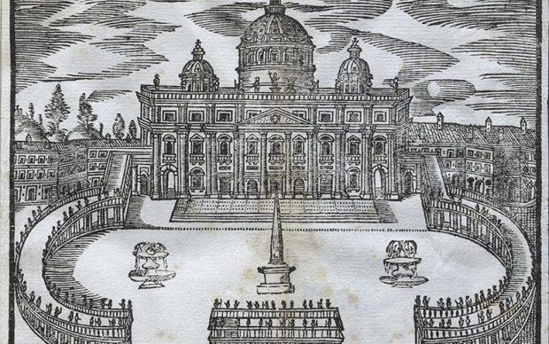 Federico Franzini, Roma antica e moderna..., 1677, National Gallery of Ireland - Sir Denis Mahon Gift collection, Dublino