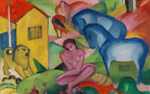 Franz Marc, The Dream [Der Traum], 1912, Museo Thyssen-Bornemisza, Madrid