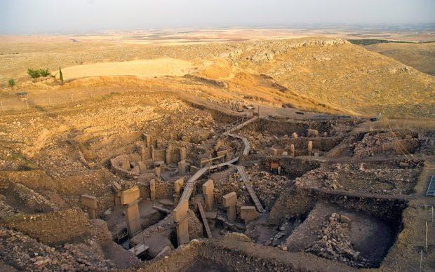 Göbekli Tepe, vista da sud della principale area di scavo, 2010. Photo by N. Becke © DAI