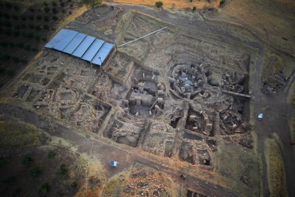 Göbekli Tepe, vista aerea della principale area di scavo, 2011 © DAI, Göbekli Tepe Project