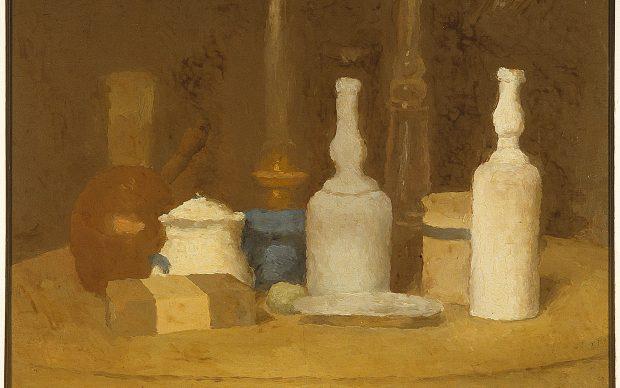 Giorgio Morandi, Natura morta, olio su tela, 1923- 1924, Museo Novecento Firenze, Raccolta Alberto Della Ragione, Fototeca Musei Civici Fiorentini