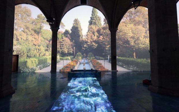 Tannaz Lahiji, Riflessioni su Dante, Firenze, 2019, photo by Studio Associato CGE Fotogiornalismo