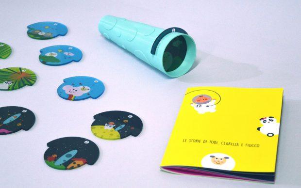 Il Cannocchiale, progetto di Perego Pitta e Sala giochi progetto studenti NABA pediatria Pini Milano