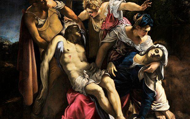 Jacopo Tintoretto, Deposizione di Cristo, c. 1562, Gallerie dell'Accademia, Venezia