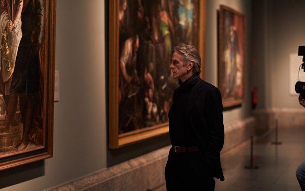 Jeremy Irons Museo del Prado docufilm Grande Arte al cinema