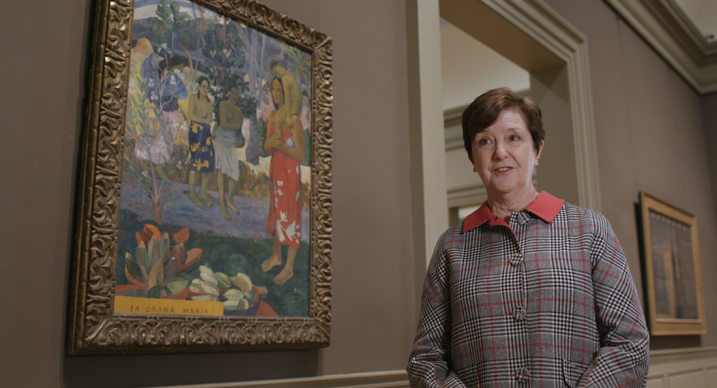 """Una scena di """"Gauguin a Tahiti. Il paradiso perduto"""": Judy Sund"""