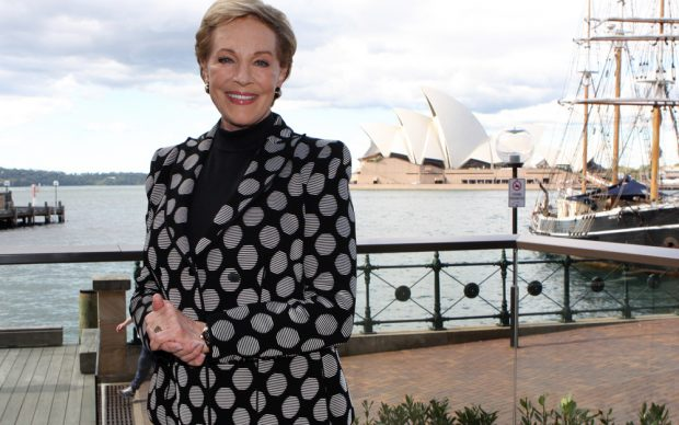 Julie Andrews a Sydney, Australia, nel maggio 2013 per il suo tour An Evening with Julie Andrews, photo by Eva Rinaldi fonte Flickr