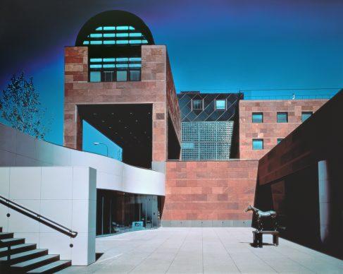 Arata Isozaki, The Museum of Contemporary Art, 1981-86, Los Angeles California, USA - Photo courtesy of Yasuhiro Ishimoto