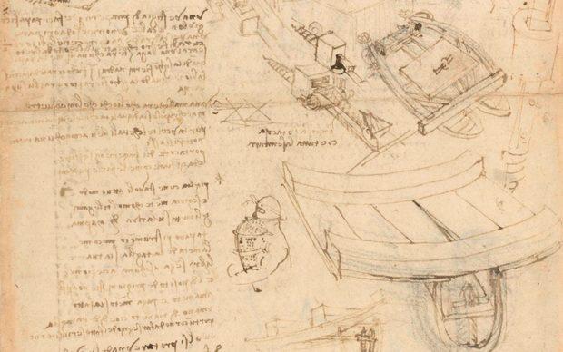 Leonardo da Vinci Fogli scelti del Codice Atlantico Palazzo Vecchio Firenze