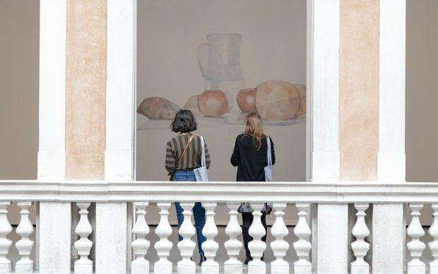 Luc Tuymans. Pelle, exhibition view della mostra a Palazzo Grassi, Venezia, photo by Irene Fanizza per Artribune