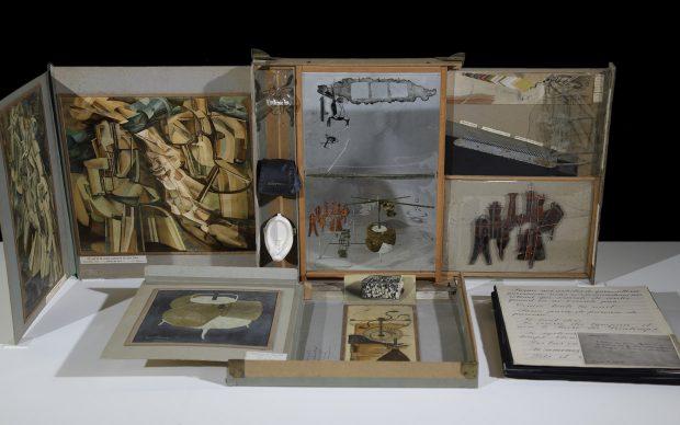 Marcel Duchamp, Scatola in una valigia (Boîte en-valise), 1941, Collezione Peggy Guggenheim, Venezia, photo Archivio Fotografico Opificio delle Pietre Dure
