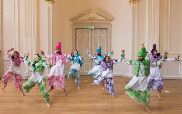 Bhangra dancers, Assembly Rooms, Edinburgh, Scotland, 2017 Picture credit: © Martin Parr / Magnum Photos / Rocket Gallery