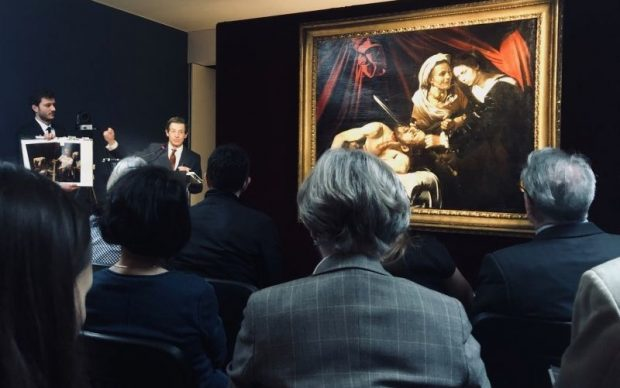 Michelangelo Merisi da Caravaggio, Giuditta e Oloferne, c.1604 - 1605, photo by PRNewsfoto-Artprice