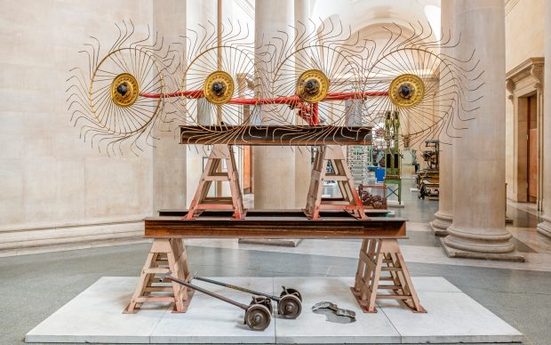 Mike Nelson, The Asset Strippers, Tate Britain Commission 2019, installation view, photo by Tate/Matt Greenwood