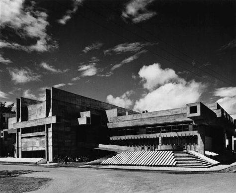 Arata Isozaki, Ōita Prefectural  Library, 1962-66, Ōita, Japan - Photo courtesy of Yasuhiro Ishimoto