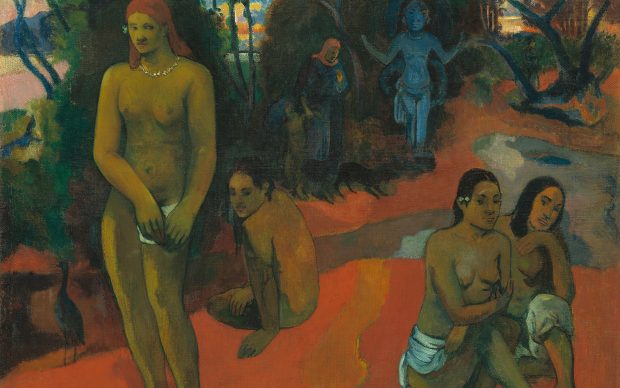 Paul Gauguin, Te Pape Nave Nave (Delectable Waters), 1898, Collection of Mr. and Mrs. Paul Mellon, National Gallery of Art, Washington