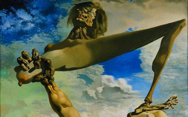 Salvador Dalí. Soft Construction with Boiled Beans (Premonition of Civil War). 1936