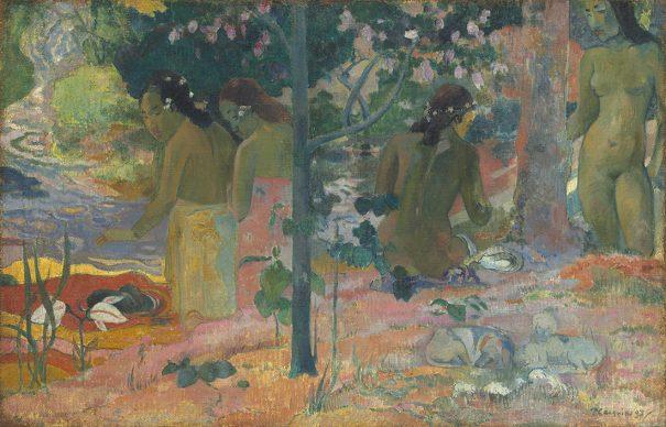 Paul Gauguin, The Bathers, 1897, Gift of Sam A. Lewisohn, National Gallery of Art, Washington