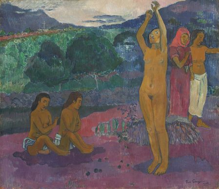 Paul Gauguin, The Invocation, 1903, Gift from the Collection of John and Louise Booth in memory of their daughter Winkie, National Gallery of Art, Washington