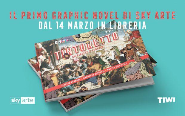 Tintoretto Un Ribelle a Venezia - graphic novel prodotto da Sky Arte con studio TIWI