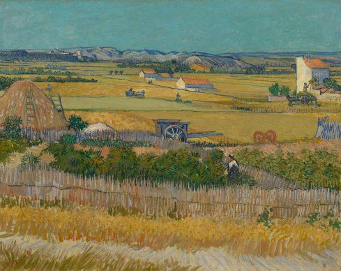 Vincent van Gogh, The Harvest, 1888,  Van Gogh Museum, Amsterdam (Vincent van Gogh Foundation)