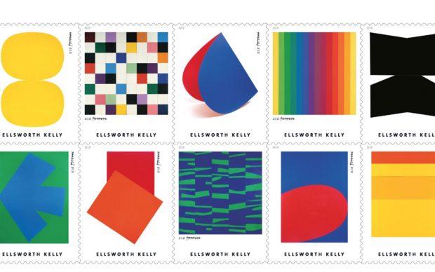 ellsworth kelly francobolli us postal service