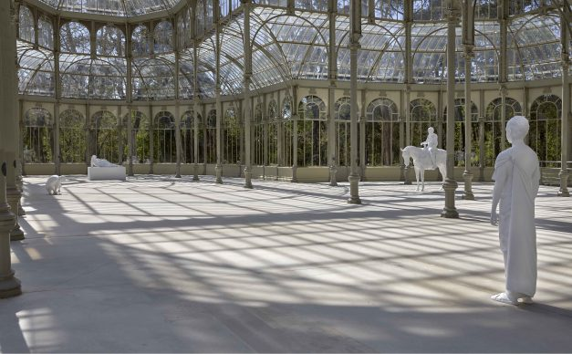 Exhibition view al Palacio de Cristal, Madrid, 2019. Photo by Joaquin Cortés/Román Lores, archivio fotografico del Museo Reina Sofia