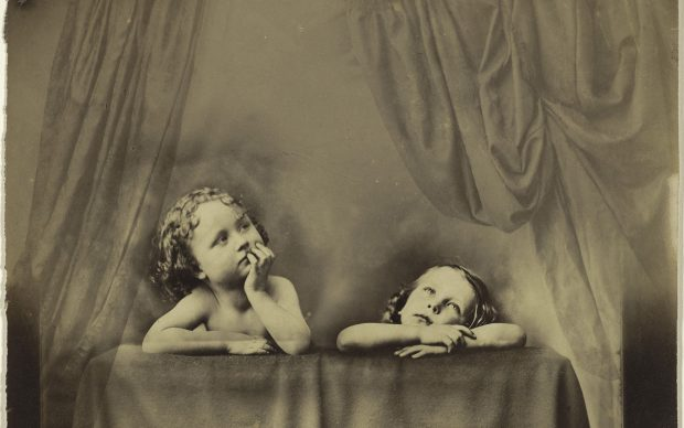 Oscar Gustaf Rejlander, Non Angeli sed Angli (Not Angels but Anglos), after Raphael's Sistine Madonna, about 1854–1856, Princeton University Art Museum. Museum purchase, David H. McAlpin, Class of 1920, Fund EX.2019.5.91