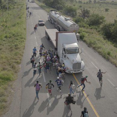 The Migrant Caravan © Pieter Ten Hoopen, Agence Vu/Civilian Ac