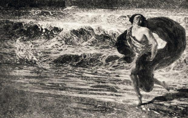 Plinio Nomellini, Gioia, 1914. Tav. LXXIX, Catalogo Seconda Secessione Romana, 1914, Roma. Archivio Nonellini