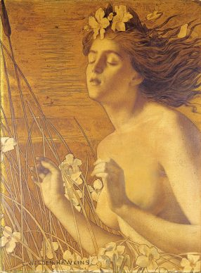 Louis Welden Hawkins, L'Automne, 1895 ca. Olio su tela, 72,5x53,3 cm, Private collection, London