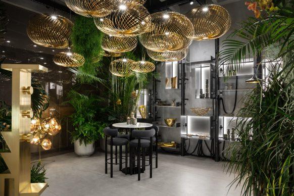 Tom Dixon, ristorante The Manzoni, via Manzoni 5, Milano, Milano Design Week 2019