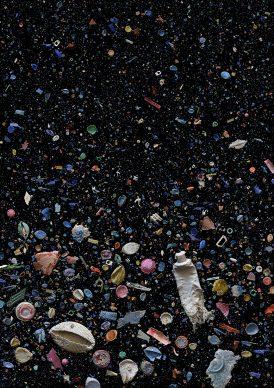 SOUP_REFUSED Ingredienti: detriti oceanici di plastica masticati perché qualche animale ha tentato di ingerirli.Compreso un tubetto di dentifricio. Additivi: denti di capra. FOTO: Mandy Barker