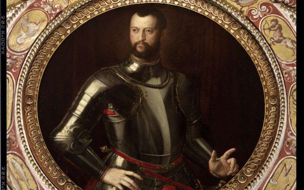 Alessandro Allori_Cosimo de Medici_Palazzo Vecchio