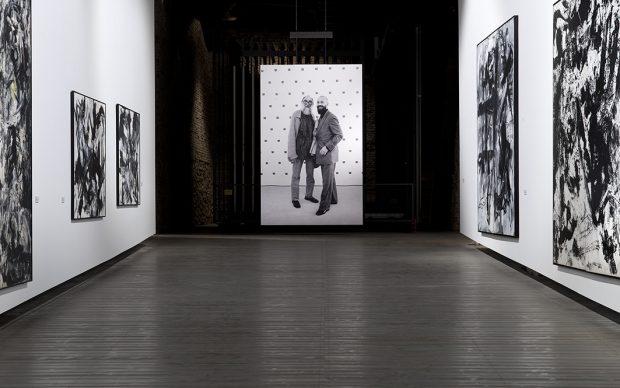 Allestimento Emilio Vedova di/by Georg Baselitz, Accademia di Venezia