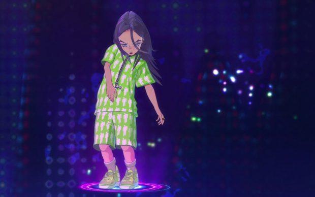 Billie Eilish videoclip Murakami You should seen me in a crown