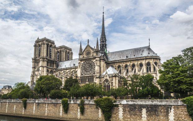 Cattedrale Notre-Dame de Paris, 2015, photo by Jose Losada - Fotografía, fonte Flickr