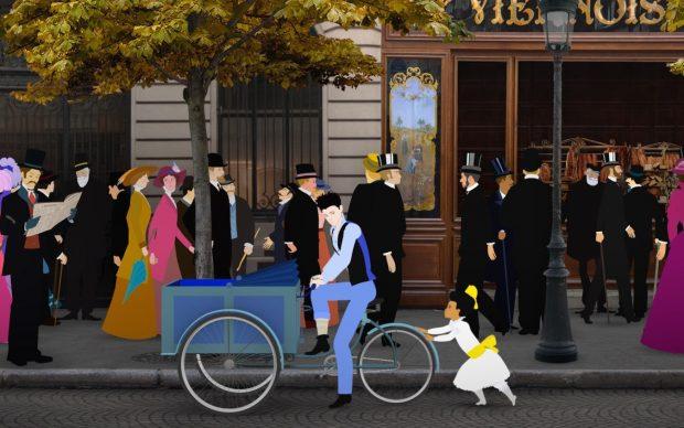 Dilili a Parigi regia di Michel Ocelot film animazione