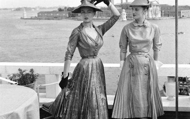 Dior a Venezia nel 1951, Archivio Cameraphoto ©Vittorio Pavan