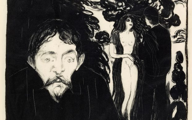 Edvard Munch (1863-1944). Jealousy II, 1896. © The Trustees of the British Museum