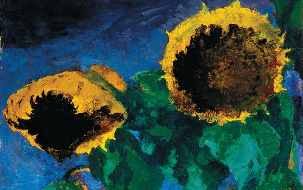 Emil Nolde, Ripe Sunflowers, 1932 © Nolde Stiftung Seebüll