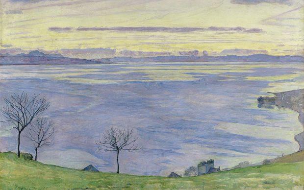 Ferdinand Hodler, Abend am Genfersee (Sera sul Lago Lemano), 1895, Kunsthaus Zürich © Kunsthaus Zürich