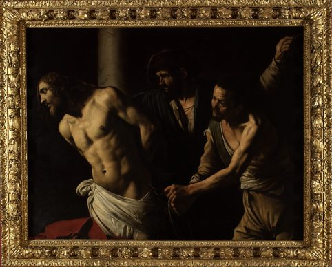 Caravaggio, Flagellazione, 1607, Olio su tela, cm 134,5 x 175,5, Rouen, Musée des Beaux-Arts © C. Lancien, C. Loisel /Réunion des Musées Métropolitains Rouen Normandie