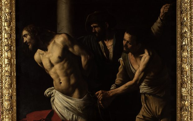 Caravaggio, Flagellazione, 1607, Olio su tela, cm 134,5 x 175,5 Rouen, Musée des Beaux-Arts © C. Lancien, C. Loisel /Réunion des Musées Métropolitains Rouen Normandi
