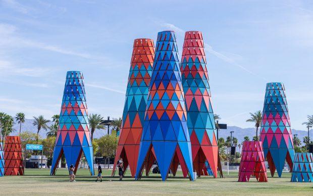 Francis Kéré, Sarbalé Ke, Coachella Valley Music and Arts Festival 2019, photo by Iwan Baan, fonte kere-architecture.com
